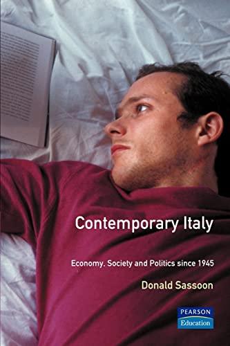 9780582214286: Contemporary Italy: Politics, Economy and Society Since 1945