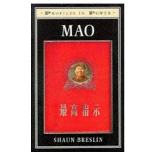 9780582215252: Mao (Profiles in Power)