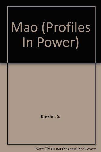 9780582215269: Mao (Profiles in Power)