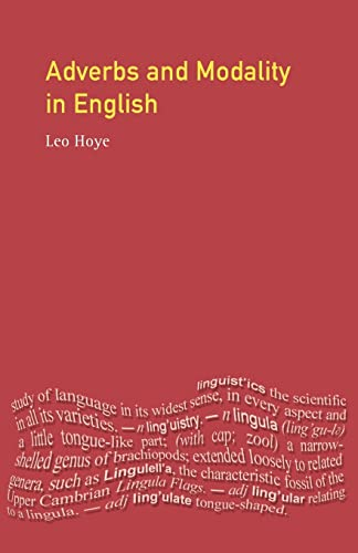 9780582215351: Adverbs and Modality in English (English Language Series)