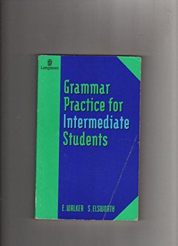 9780582217195: Grammar Practice for Intermediate Students (GRPR)