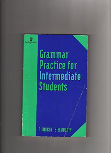 9780582217195: Grammar Practice for Intermediate Students (GRPR) (English and Spanish Edition)