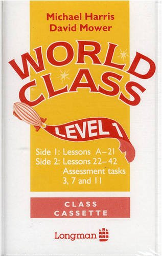 9780582218574: World Class, Level 1