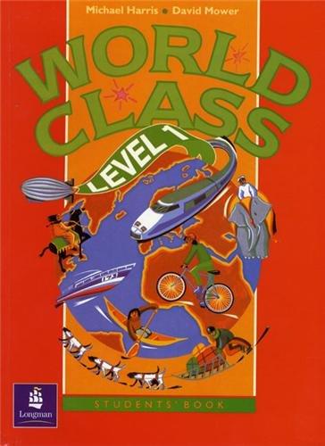 9780582218598: World Class Level 1 Student's Book (World Club)