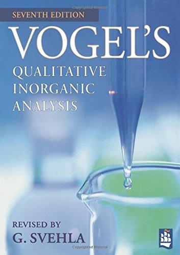 9780582218666: Vogel's Qualitative Inorganic Analysis