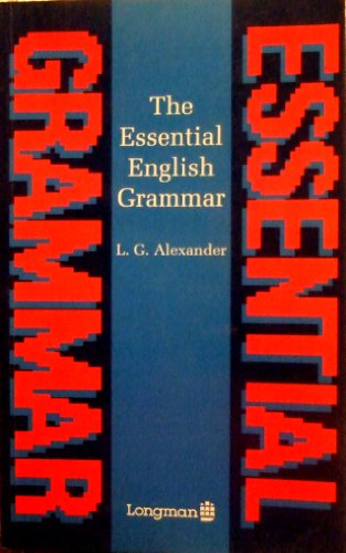 9780582218697: The Essential English Grammar