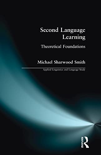 9780582218864: Second Language Learning: Theoretical Foundations (Applied Linguistics and Language Study)