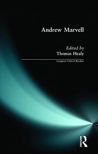 9780582219076: Andrew Marvell (Longman Critical Readers)