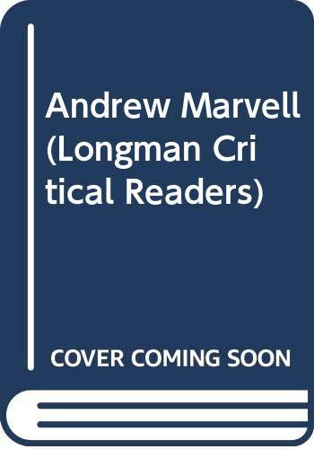 9780582219106: Andrew Marvell