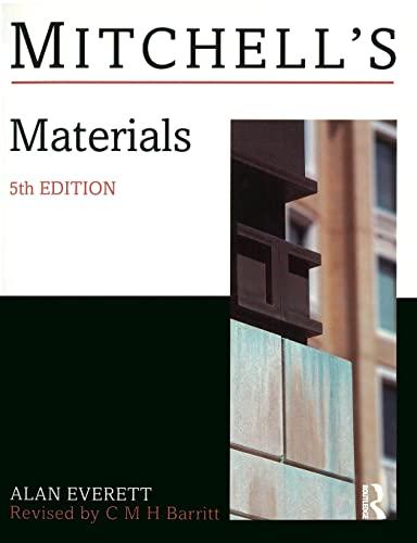 9780582219236: Materials (Mitchells Building Series)