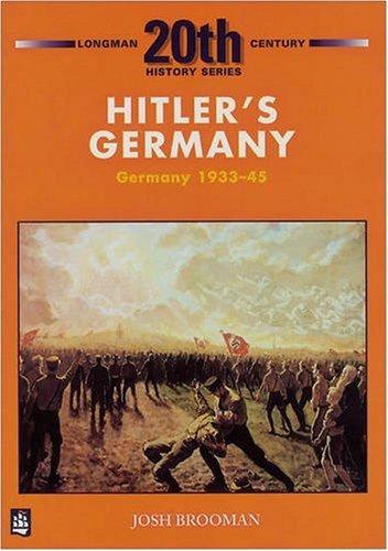 9780582223738: Hitler's Germany (LONGMAN TWENTIETH CENTURY HISTORY SERIES)