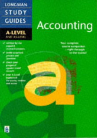 9780582225695: Accounting: A-level & AS-level (Longman Revise Guides)