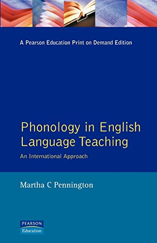 9780582225718: Phonology in English Language Teaching: An International Approach (Applied Linguistics and Language Study)
