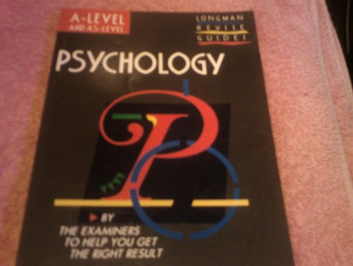 9780582226548: Psychology (GCE Geography Revision Guides)