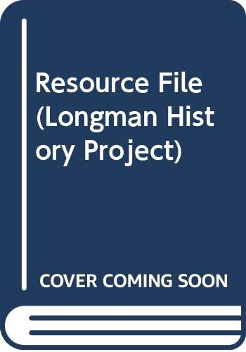 9780582226807: Resource File (Longman History Project)