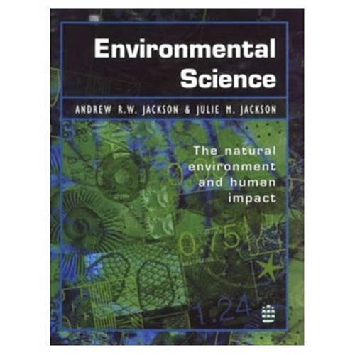 9780582227095: Environmental Science: The Natural Environment and Human Impact