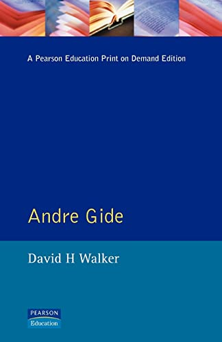 9780582227743: Andre Gide (Modern Literatures In Perspective)
