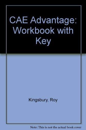 9780582228009: CAE Advantage: Workbook with Key