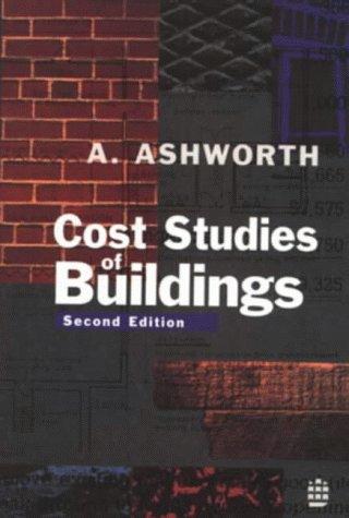 9780582228733: Cost Studies of Buildings