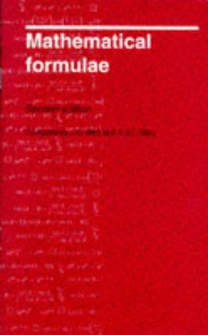 Mathematical Formulae: Bird, John O.,