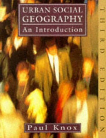 9780582229372: Urban Social Geography: Introduction