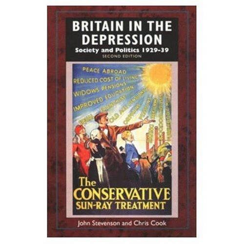 9780582229419: Britain in the Depression: Society and Politics 1929-39