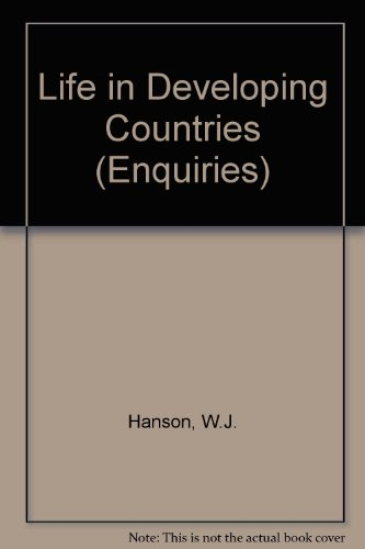 9780582230316: Life in Developing Countries (Enquiries)