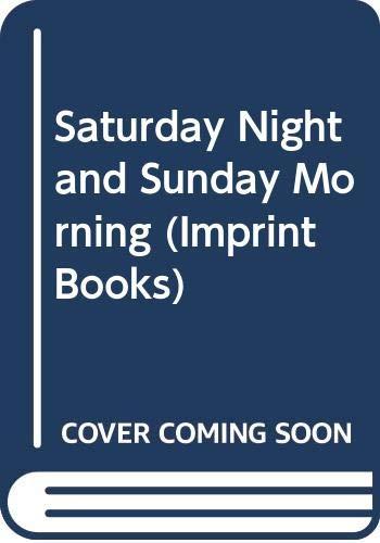 9780582233423: Saturday night and Sunday morning (Longman imprint books)