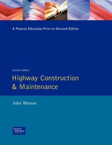 9780582234123: Highway Construction and Maintenance