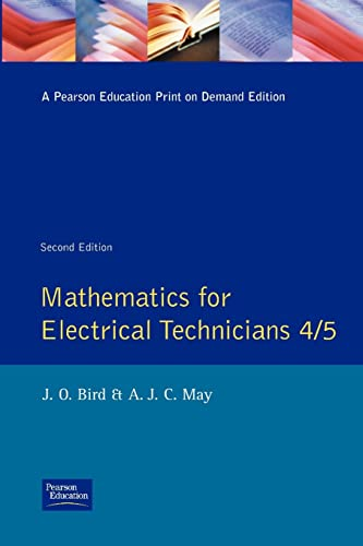 9780582234215: Mathematics for Electrical Technicians: Level 4-5