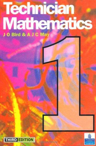 9780582234260: Technician Mathematics Level 1 (Longman Technician Series. Mathematics & Sciences)