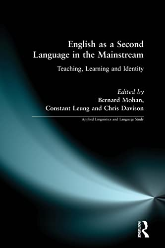 9780582234840: English as a Second Language in the Mainstream (Applied Linguistics and Language Study)