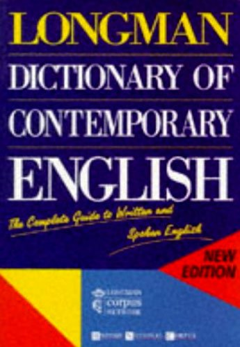 9780582237506: Longman dictionary of contemporany english (Longman Dictionary of Contemporary English)