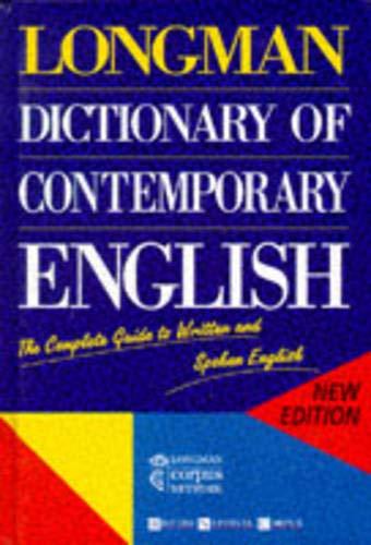 9780582237513: Longman Dictionary of Contemporary English