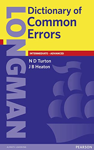 9780582237520: Longman Dictionary of Common Errors
