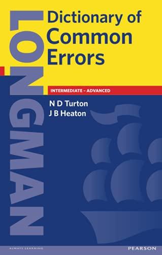 9780582237520: Longman Dictionary of Common Errors