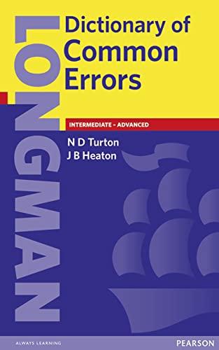 9780582237520: Longman Dictionary of Common Errors New Edition