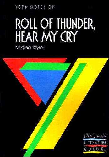"""9780582237650: York Notes on Mildred Taylor's """"Roll of Thunder, Hear My Cry"""""""