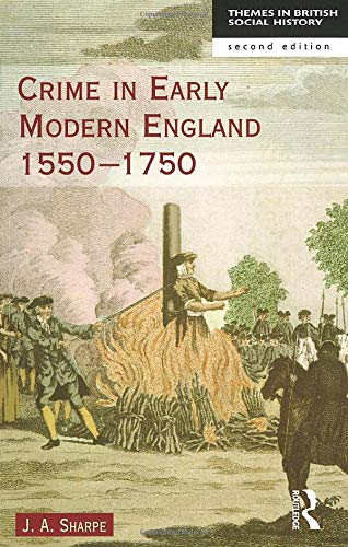 9780582238893: Crime in Early Modern England 1550-1750