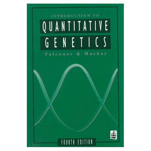 9780582243026: Introduction to Quantitative Genetics