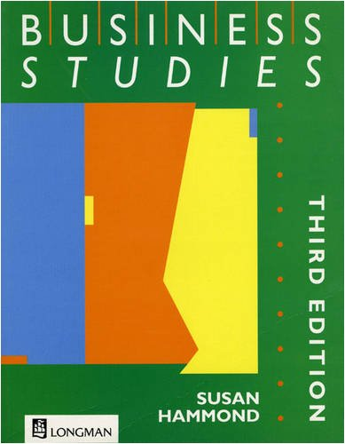 9780582244795: Business Studies 3rd. Edition