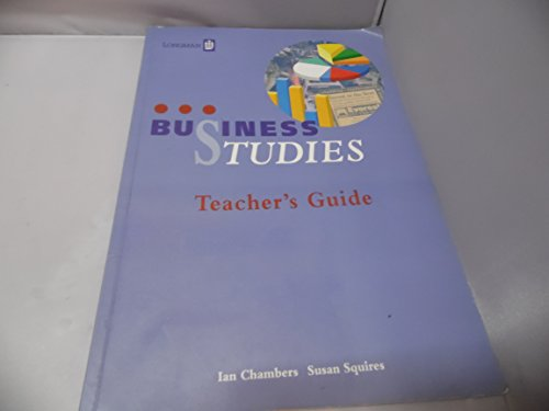 9780582244825: Business Studies: Teacher's Guide