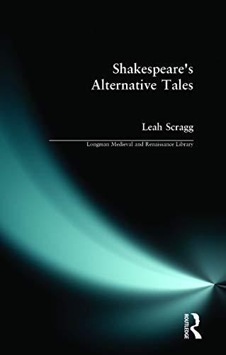 9780582244849: Shakespeare's Alternative Tales