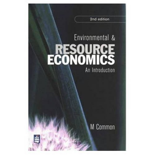 9780582246324: Environmental and Resource Economics: an Introduction