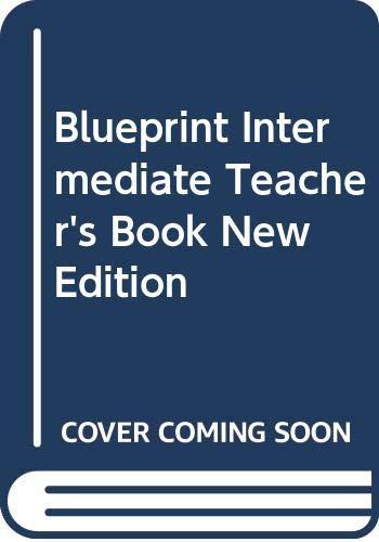 9780582248878: New Blueprint Intermediate: Teacher's Book