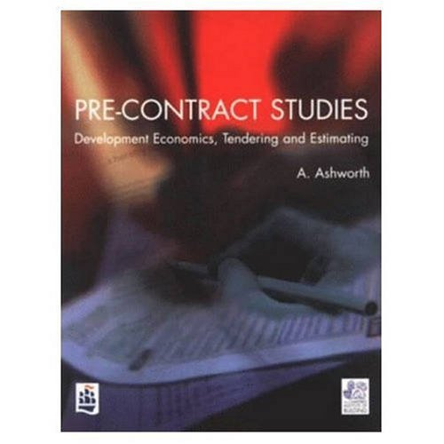 9780582249844: Pre-contract Studies: Development Economics, Tendering and Estimating (Chartered Institute of Building)