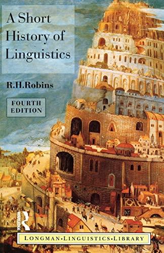 9780582249943: A Short History of Linguistics (Longman Linguistics Library)