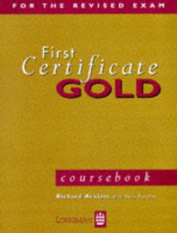 9780582253001: First Certificate Gold: Coursebook (FCE)