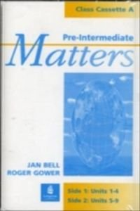 Pre-Intermediate Matters (MATT) (0582253322) by [???]