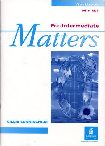 9780582253360: Pre-Intermediate Matters Workbook With Key